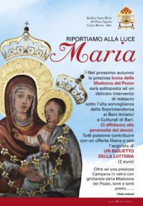 Inizio lavori icona Madonna del Pozzo