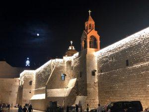La Basilica della natività a Betlemme