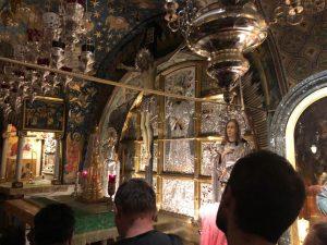 Il santo Calvario a Gerusalemme